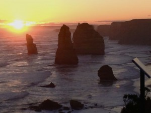 12 Apostles Sunset 11th August 2013