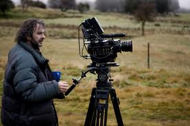 Peter Jackson with the Red Camera